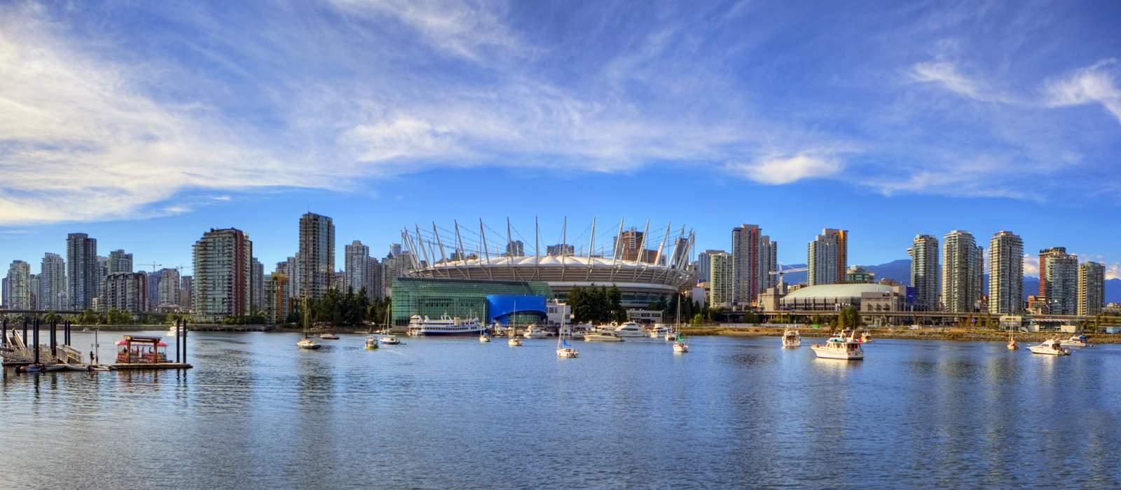 False Creek Skyline, Vancouver