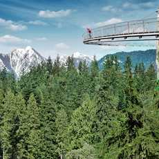 Cliffwalk bei der Capilano Suspension Bridge