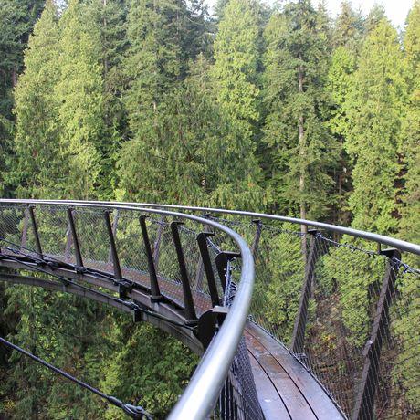 Nature's Edge Boardwalk in Vancouver