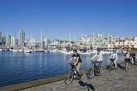 Den Stanley Park in Vancouver per Fahrrad entdecken