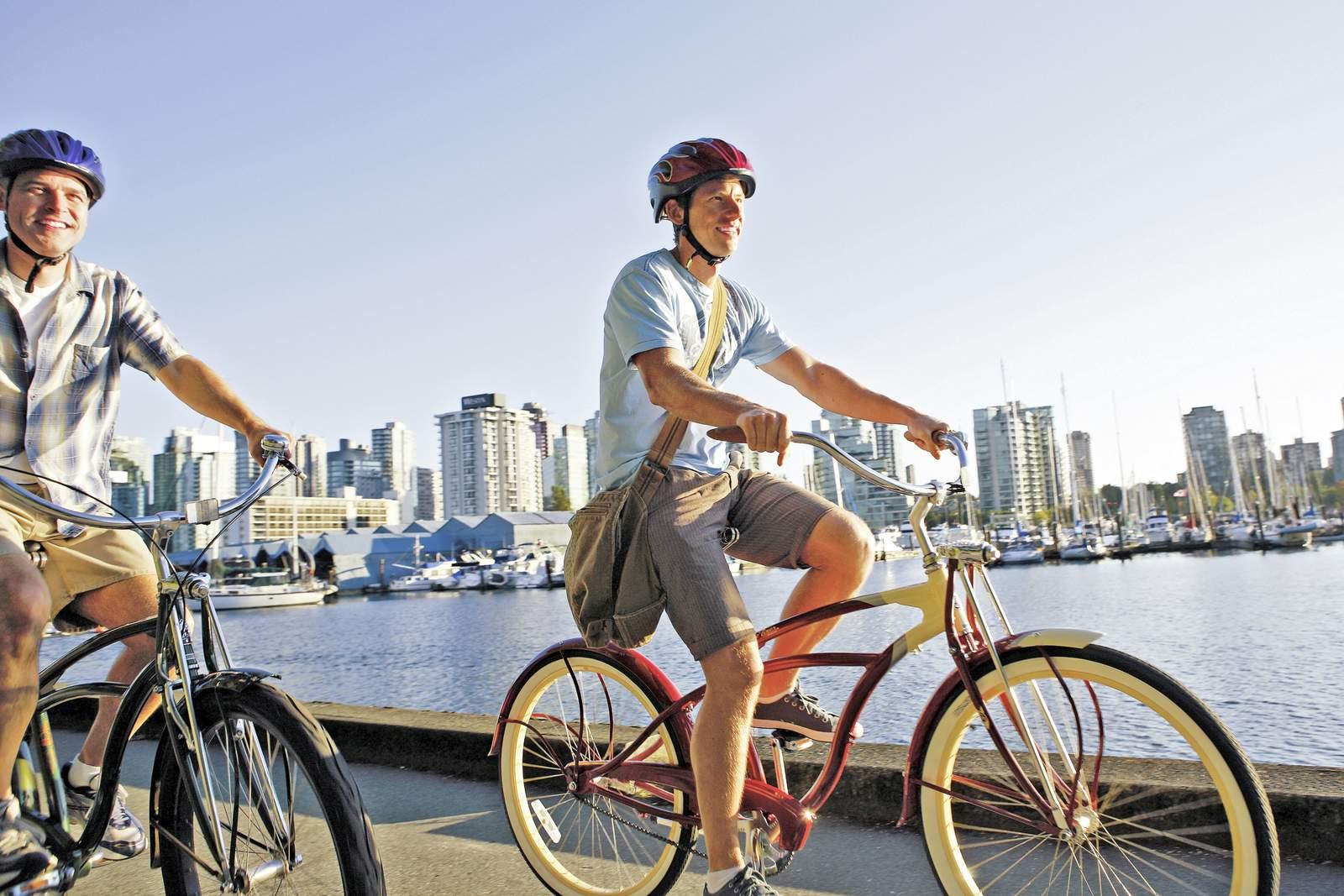 Rad fahren in Vancouver