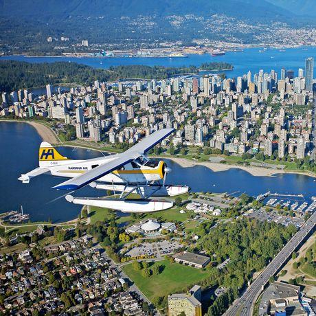 Flightseeing mit Harbour Air