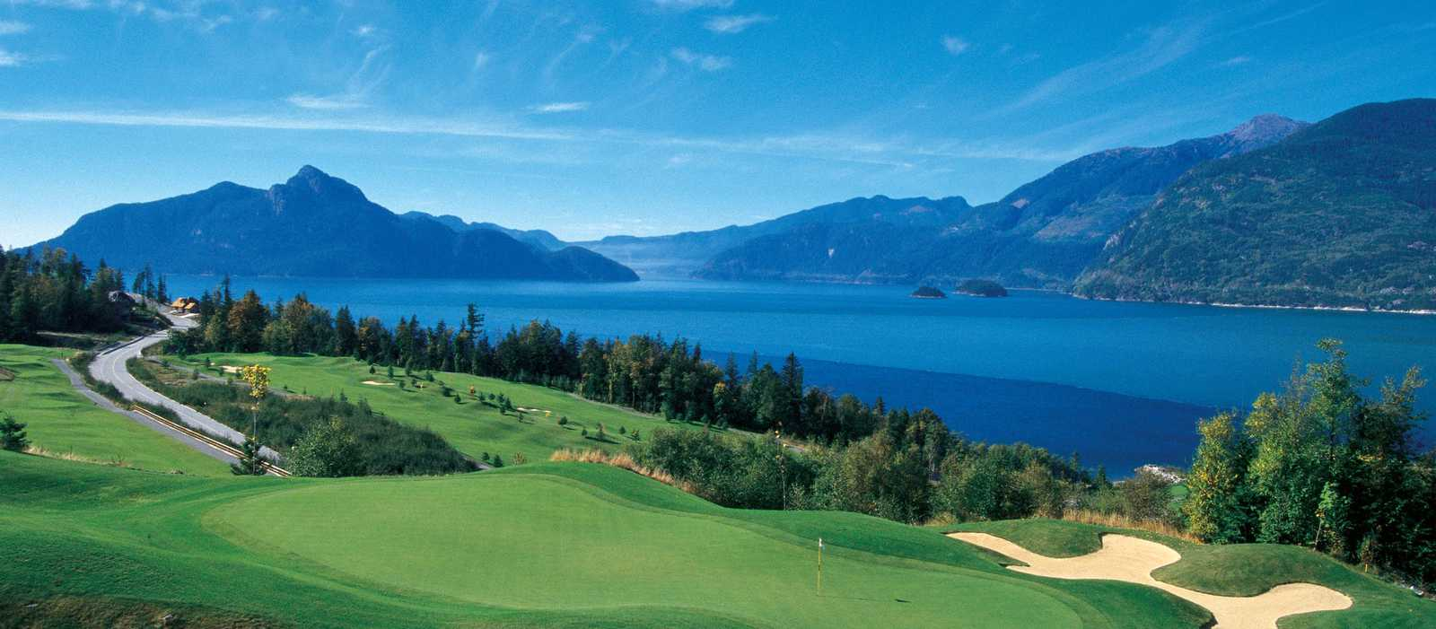 Furry Creek Golfplatz bei Vancouver