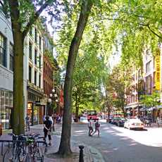 Gastown in Vancouver, British Columbia