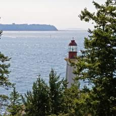 Leuchtturm im Lighthouse Park