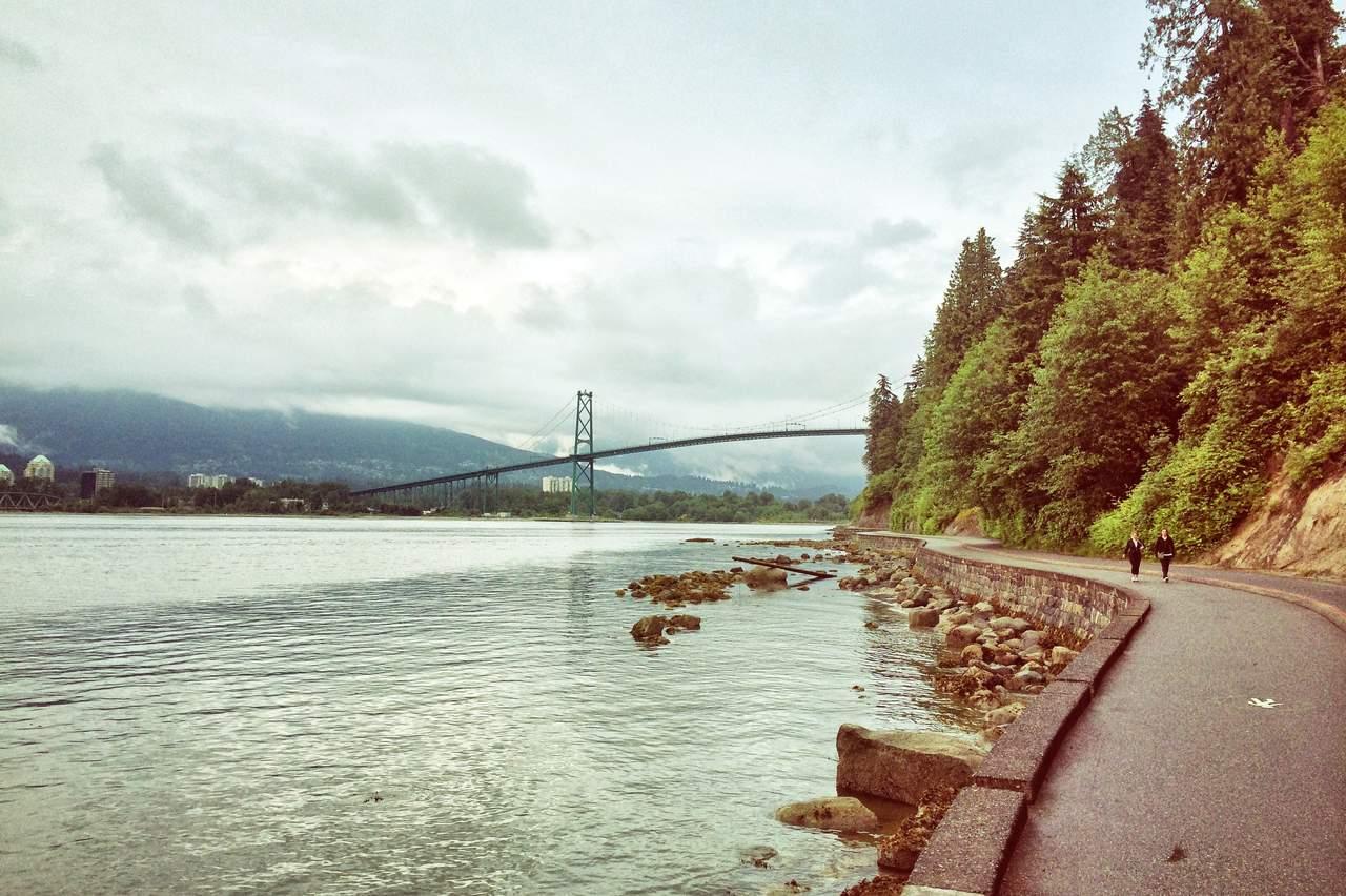 Vancouver, Blick auf die Lionsgate Bridge