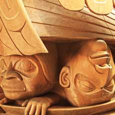 Museum of Anthropology in Vancouver, British Columbia