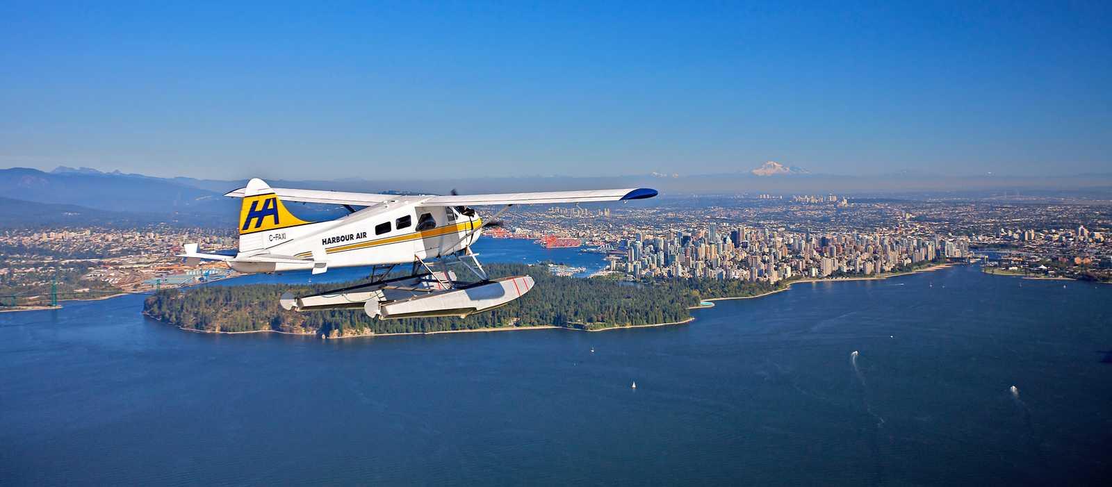 Rundflug mit Harbour Air