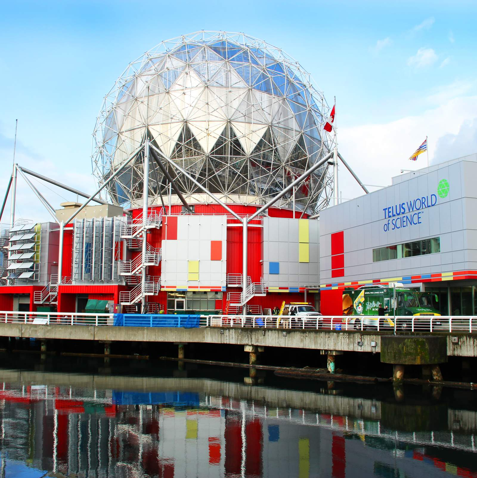 Science World in Vancouver, British Columbia