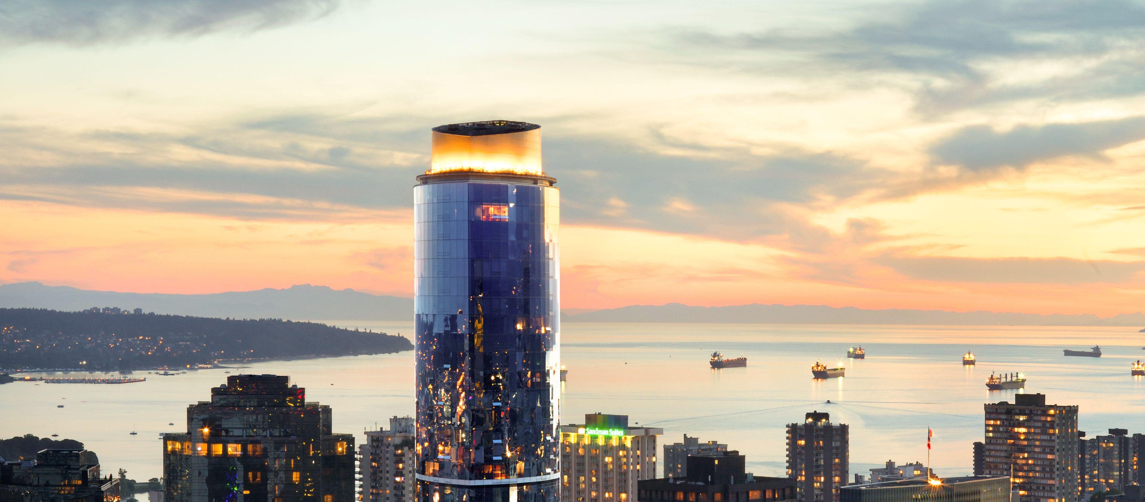 Das Sheraton Vancouver Wall Centre in Vancouver