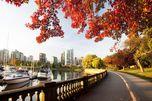 Blick vom Stanley Park auf Downtown Vancouver