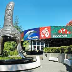 Eingang im Vancouver Aquarium, British Columbia