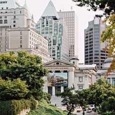 Die Vancouver Art Gallery in Vancouver