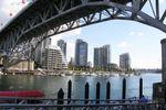 Die Hafenbrücke in Vancouver