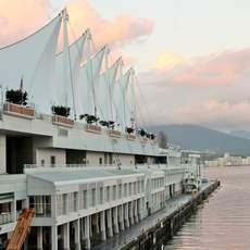 Das Kreuzfahrtterminal in Vancouver