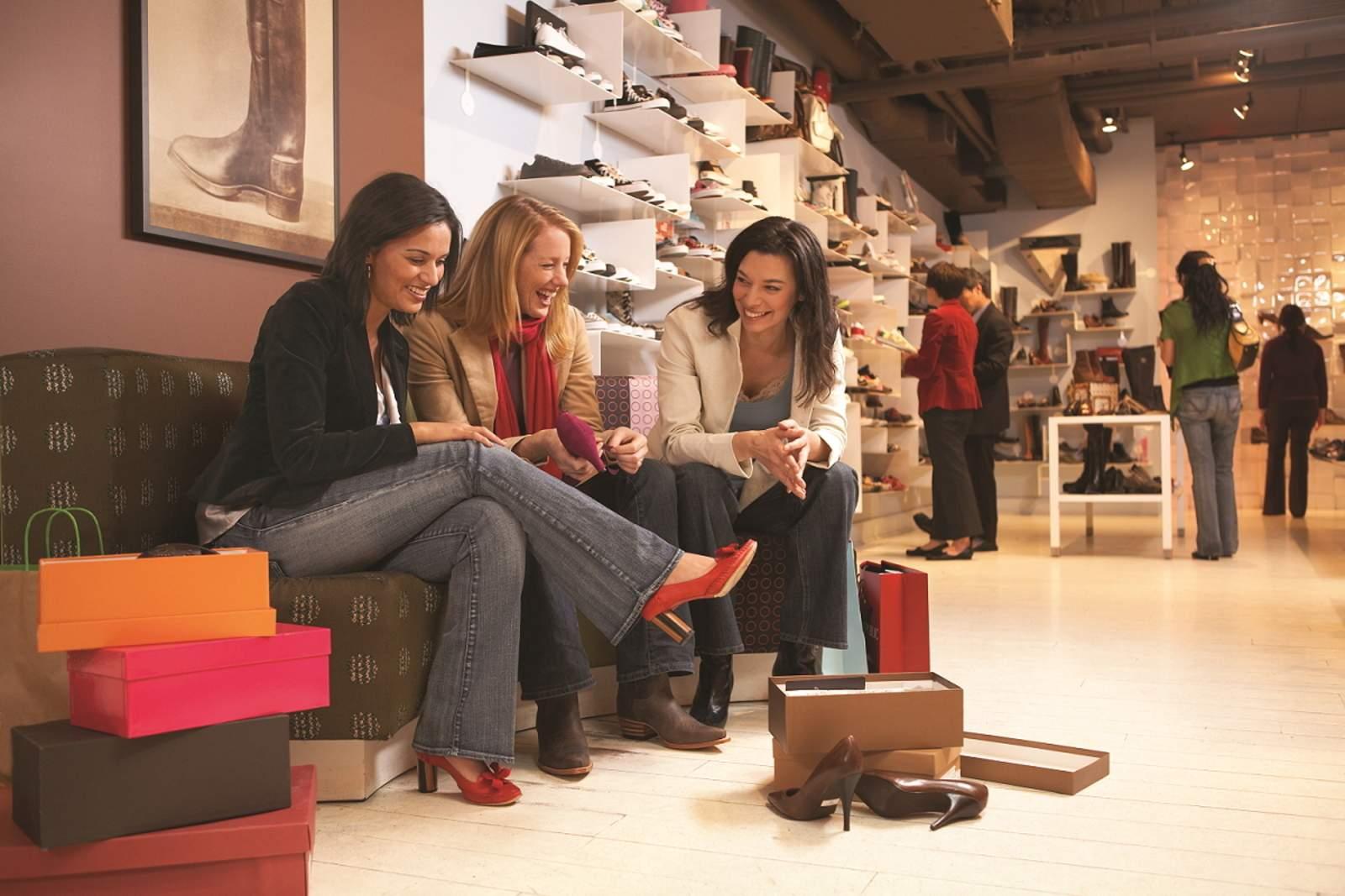 Shopping in der Robson Street