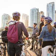 Fahrradtour durch Vancouver