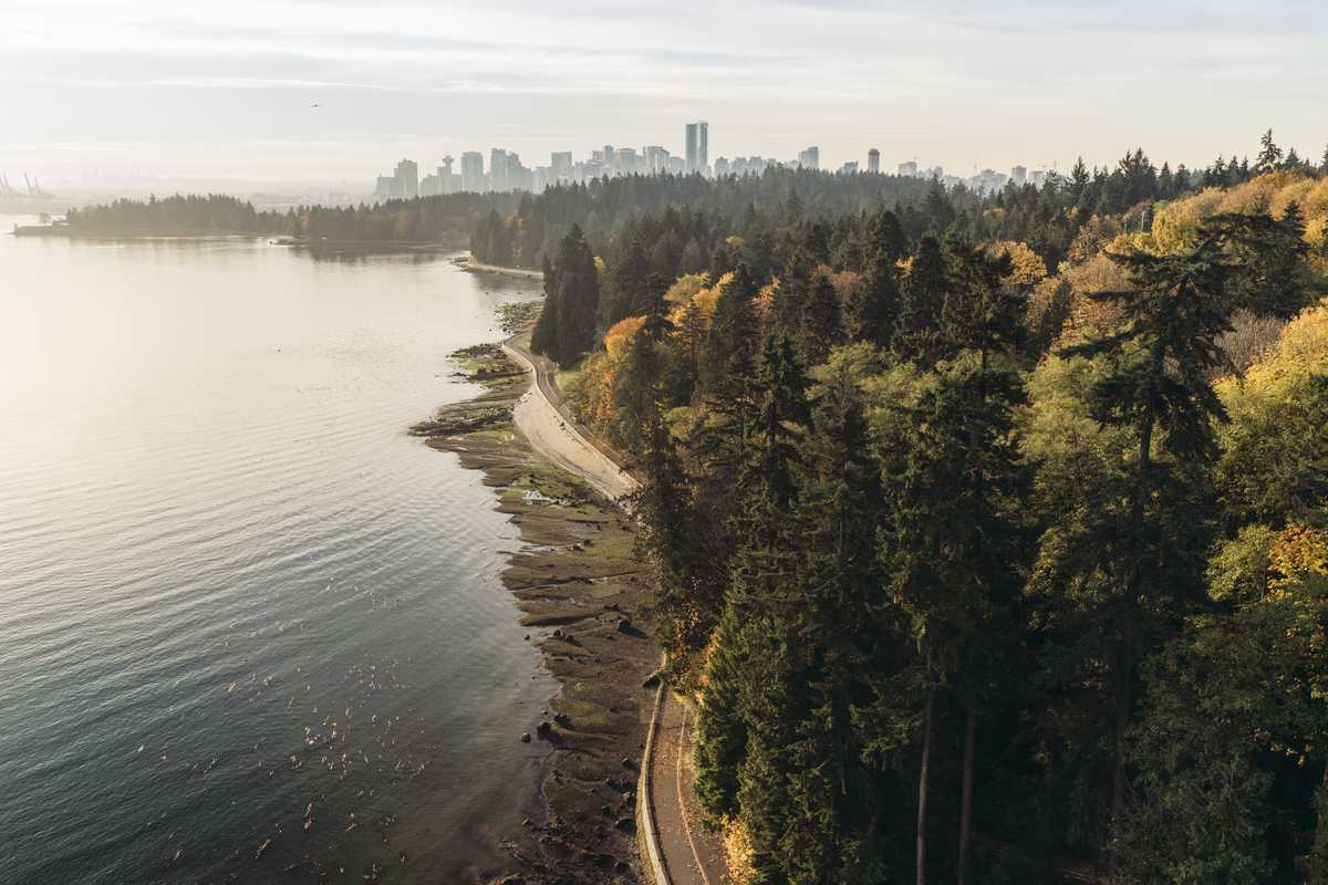 Der Stanley Park in Vancouver