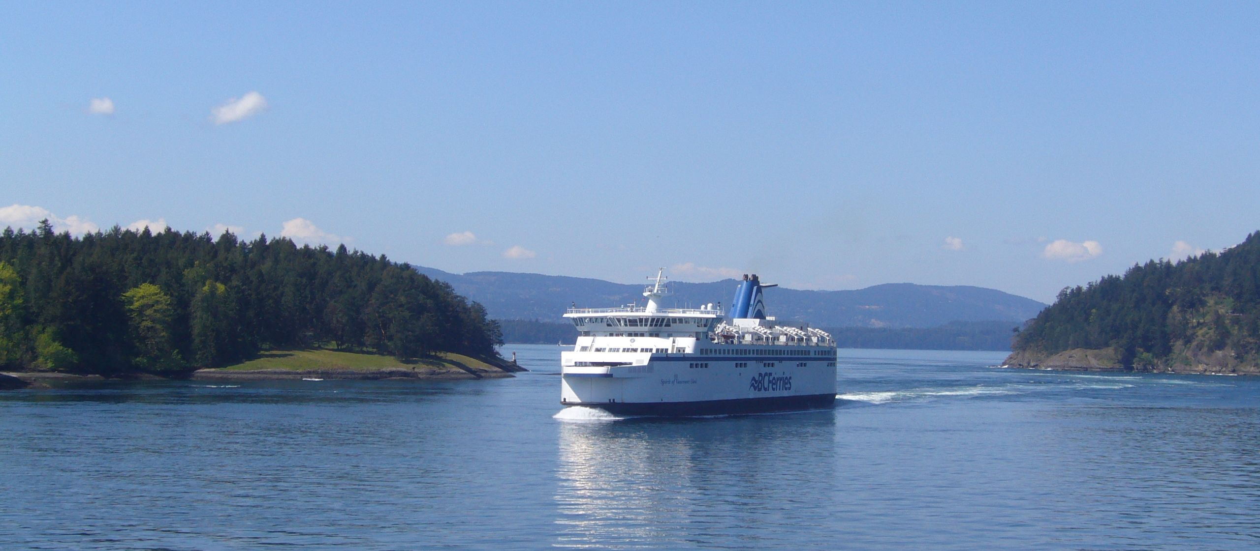 BC Ferries, Georgia, Vancouver Island