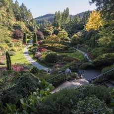 Impressionen des Butchart Gardens in Brentwood Bay