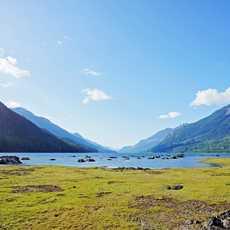 Am Buttle Lake die Weite geniessen