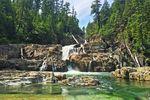 Wasserfälle auf Vancouver Island