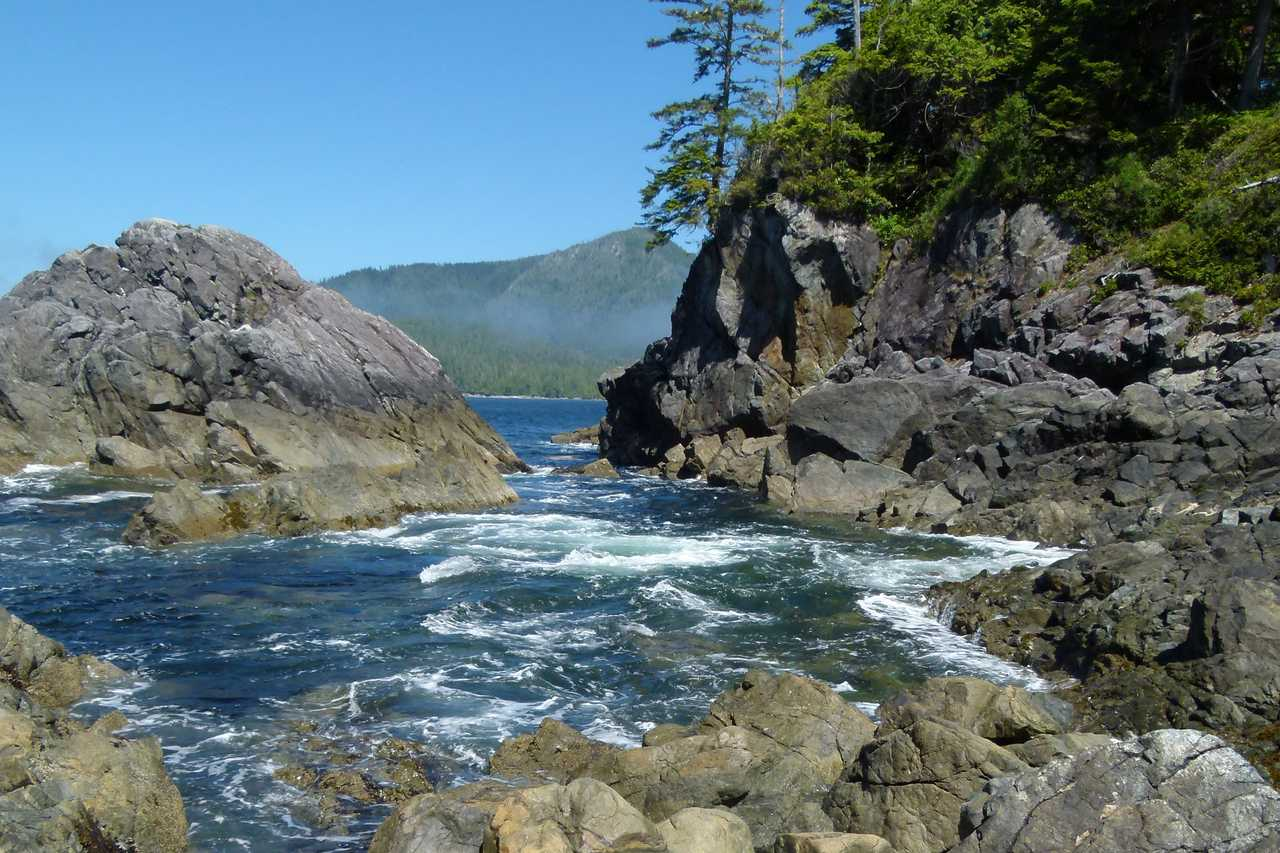 Hot Springs, Flores Island Provincial Park