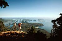 Wanderung durch die Natur von Vancouver Island