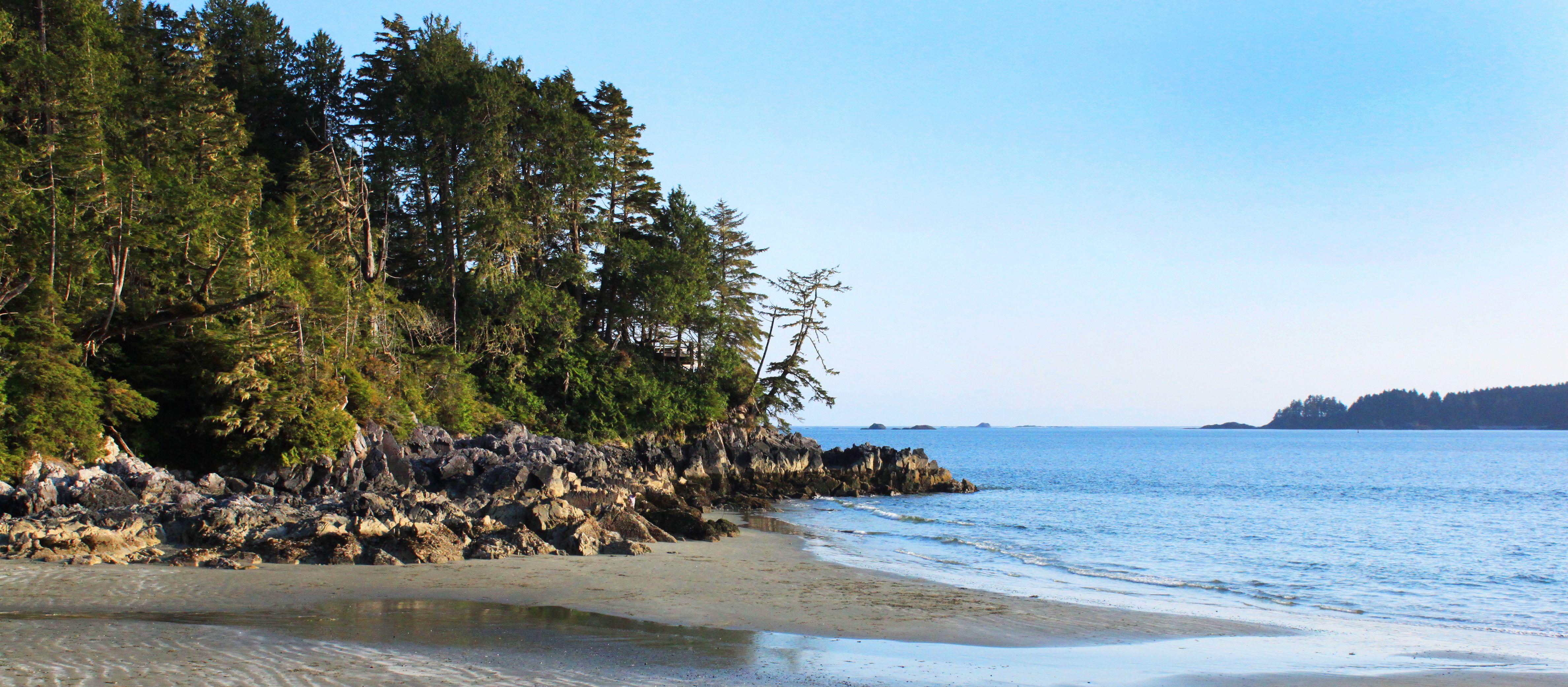 Tonquin Beach auf VAncouver Island, British Columbia
