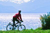 Fahrradtour durch die Stadt Victoria in Vancouver Island