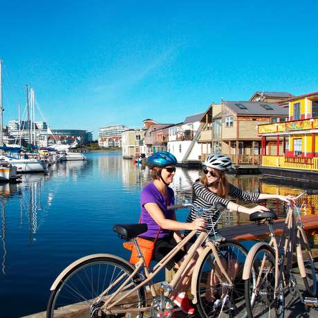 Radtour am Fisherman's Wharf
