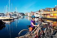 Fahrradtour durch Victoria