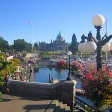 Victoria mit Parlament