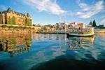 Fähre am Inner Harbour von Victoria