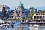 Hafen von Victoria in British Columbia