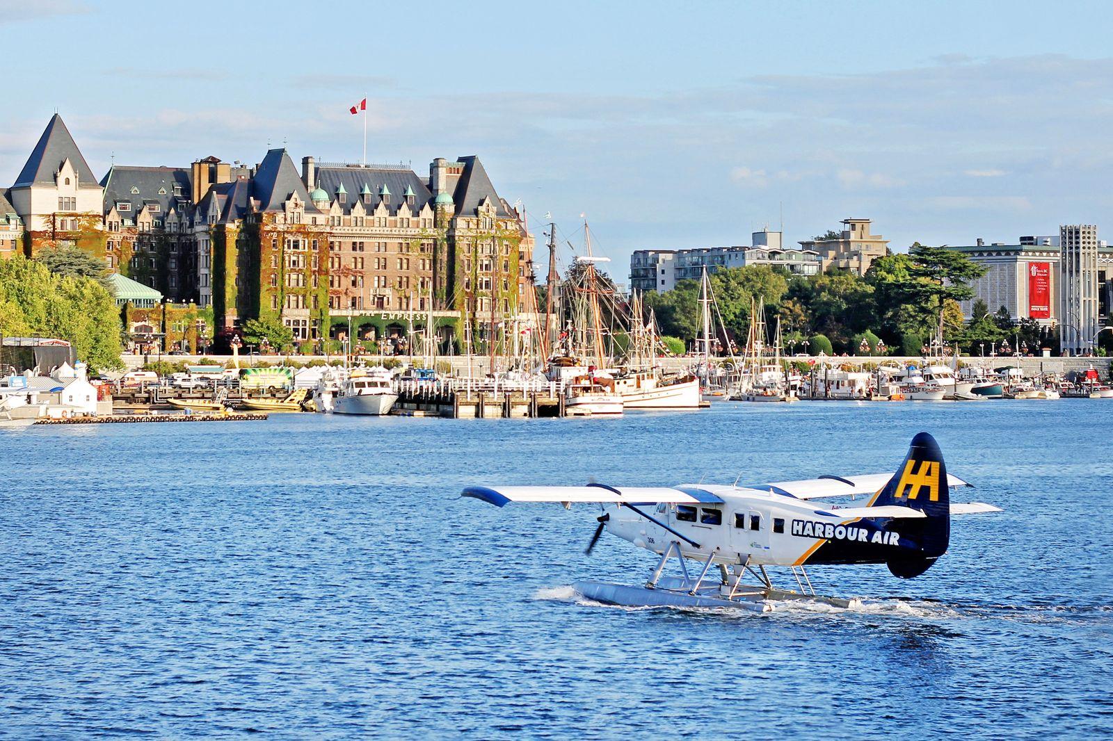 Wasserflugzeug im Inner Harbour