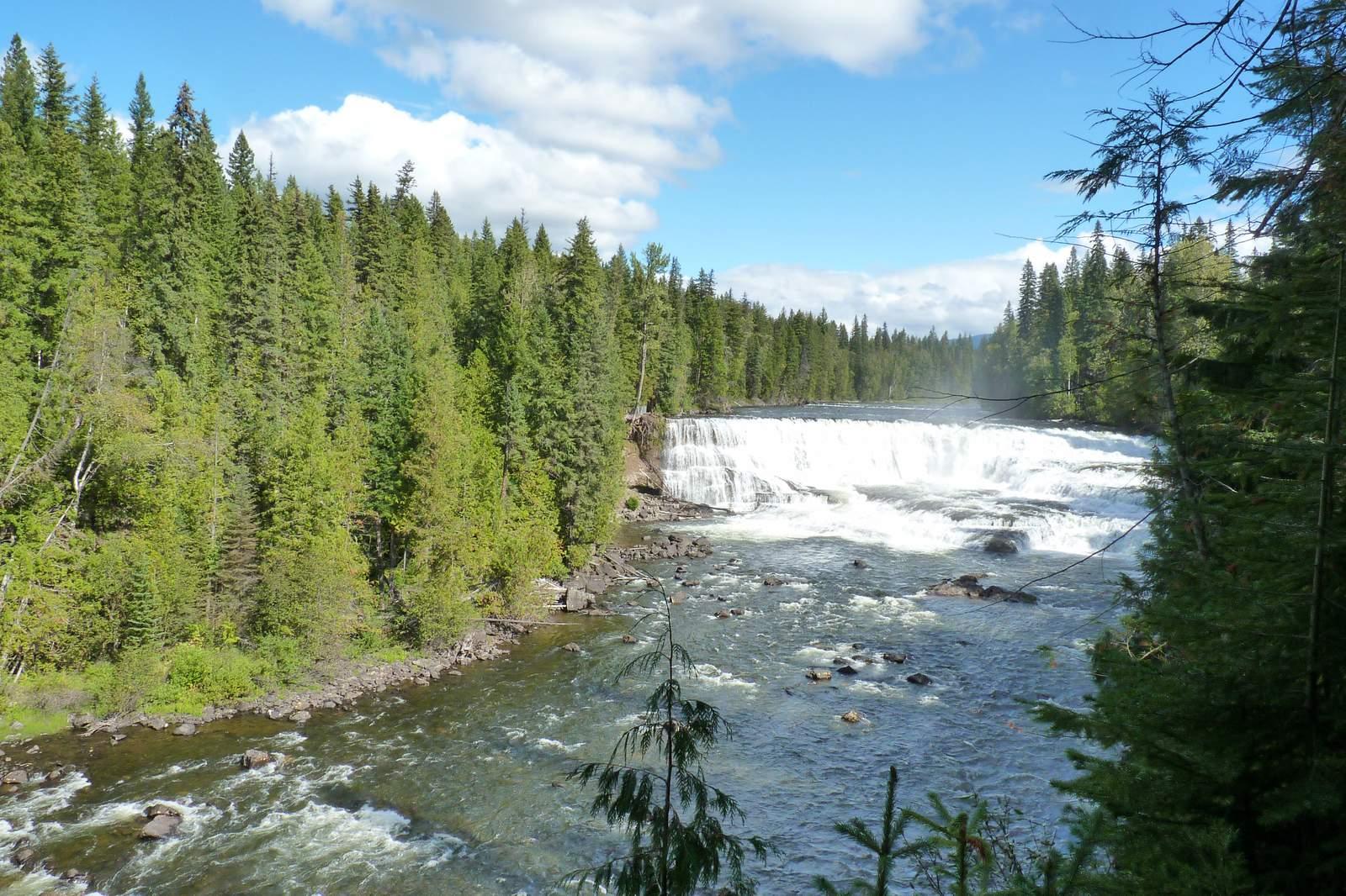 Wells Grey Dawson Falls