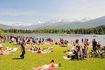Alta Lake, ein schöner See in Whistler