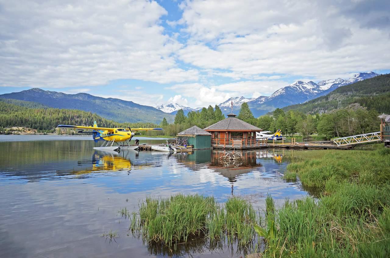 Wasserflugzeuge im Green Lake