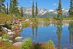 Der Harmony Lake in Whistler
