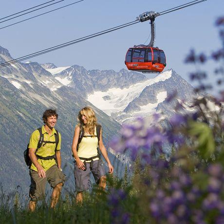 Wandern in den Whistler Mountains