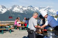 Mountain Top BBQ in Whistler