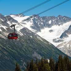 Peak to Peak Gondola and stunning mountain scenery