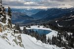 Schneelandschaft in Whistler, BC