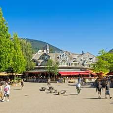 Whistler Village im Sommer
