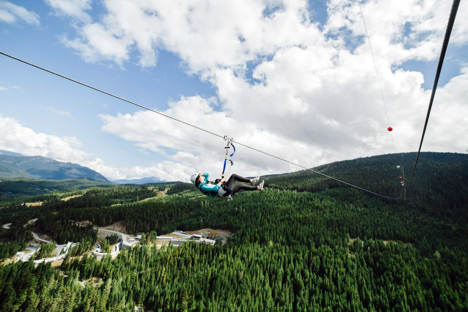 The Sasquatch Zipline