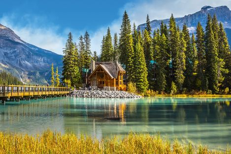 Eindrücke des Yoho-Nationalparks in der kanadischen Provinz British Columbia