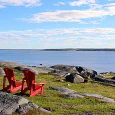 Stühle am Hudson Bay, Manitoba