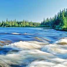 Idyllische Natur in Manitoba