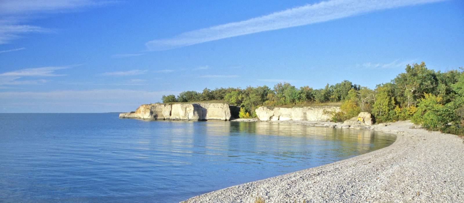 Ufer am Steep Rock